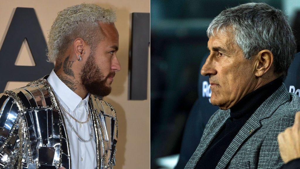 El whatsapp de Neymar a los jugadores del Barça tras el fichaje de Quique Setién