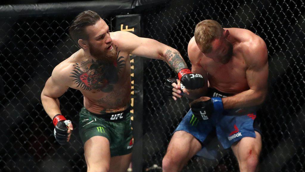 Conor McGregor se embolsó 167.000 euros por cada golpe que le propinó a Cerrone