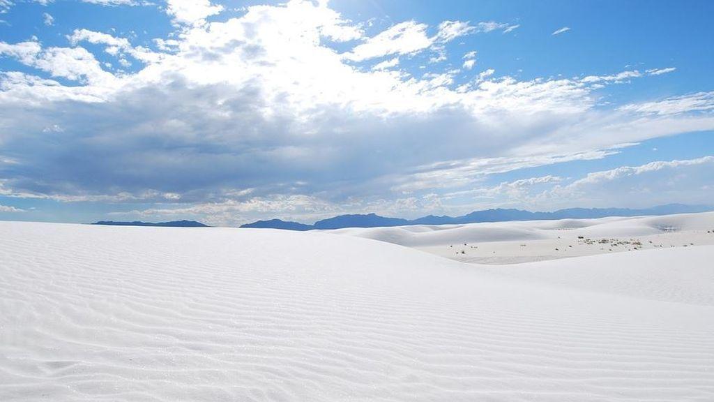 Desierto blanco: el nuevo parque nacional con dunas que parecen nieve