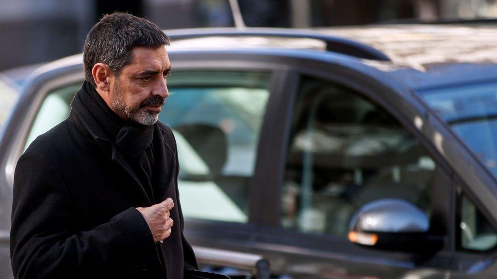 Trapero llega a la Audiencia Nacional para ser juzgado por su participación en el procés