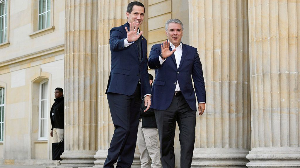 Guaidó se reunirá con Mike Pompeo en Colombia