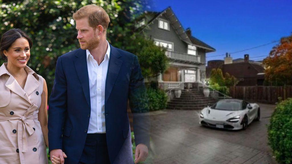 Así es la nueva casa de Meghan y Harry en Canadá