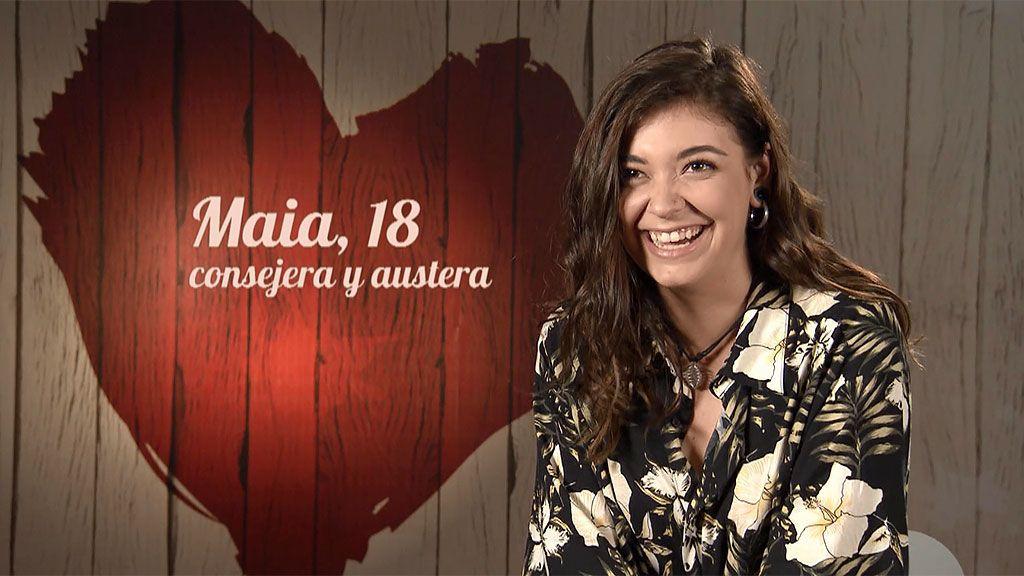 El trabajo ideal de Maia