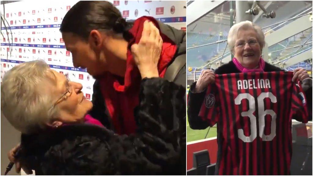 El Milan sorprende a Adelina, una aficionada rossonera que viajó desde Berlín para ver a su equipo por primera vez