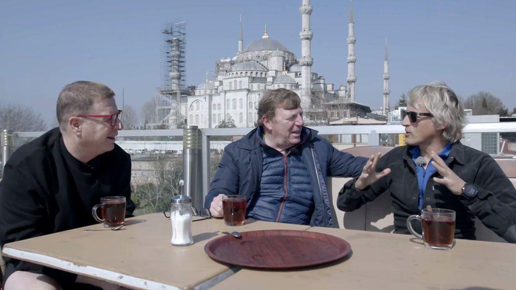 En globo, en barco, en bici, corriendo, a caballo… Los Morancos recorrerán Turquía en 'Planeta Calleja'