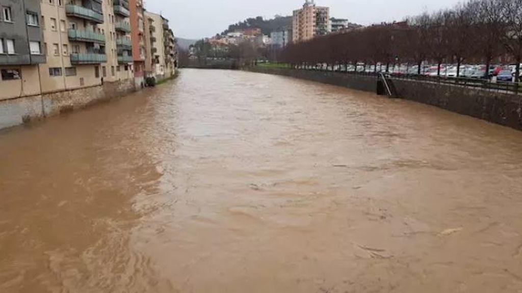 Gerona activa el plan de emergencia por riesgo de desbordamiento del río Onyar