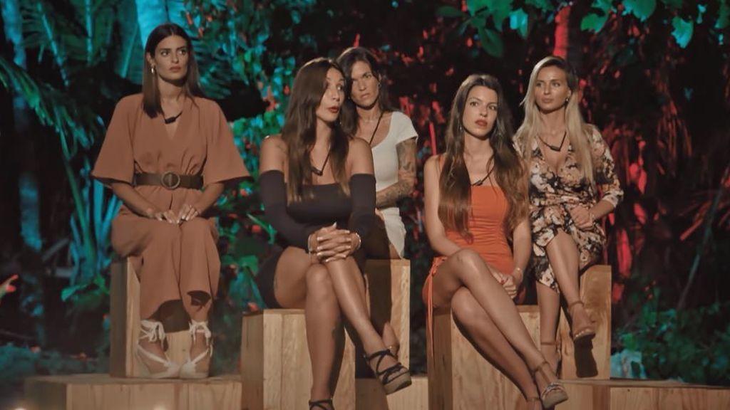 Susana, Andrea, Fiama y Adelina se enfrentan a su segunda hoguera en 'La isla de las tentaciones'