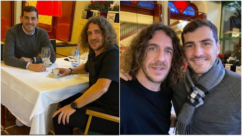 """El mensaje de ánimo de Puyol a Casillas en plena recuperación: """"Te he visto fuerte amigo"""""""