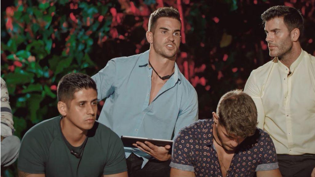 Gonzalo, Álex y Jose se enfrentan a su segunda hoguera en 'La isla de las tentaciones'