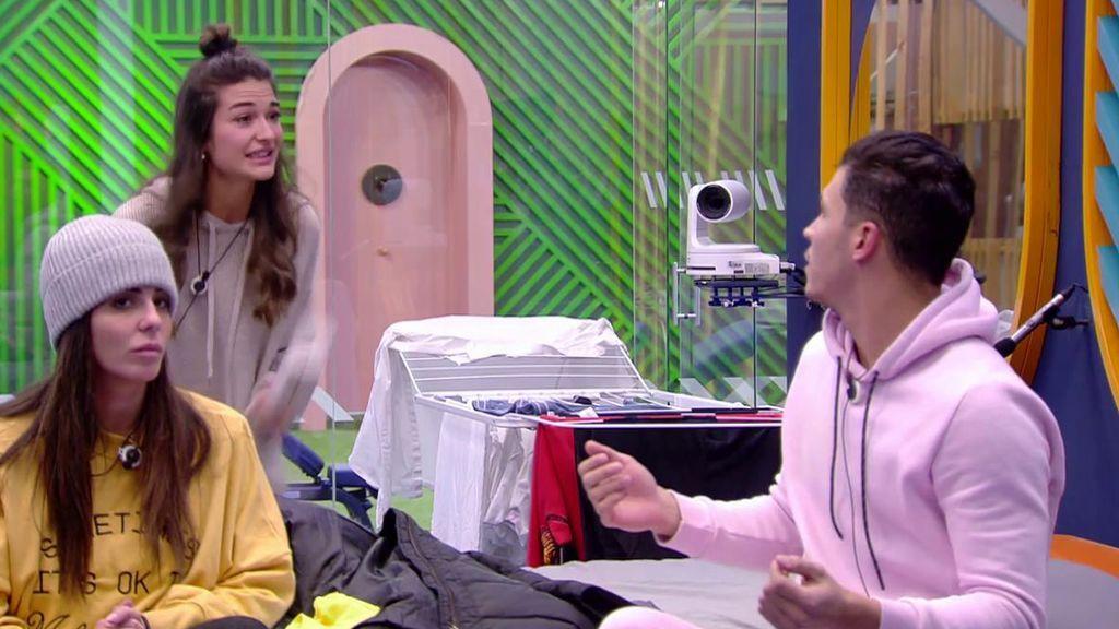 Estela y Kiko se enzarzan en una fuerte discusión por Diego Matamoros