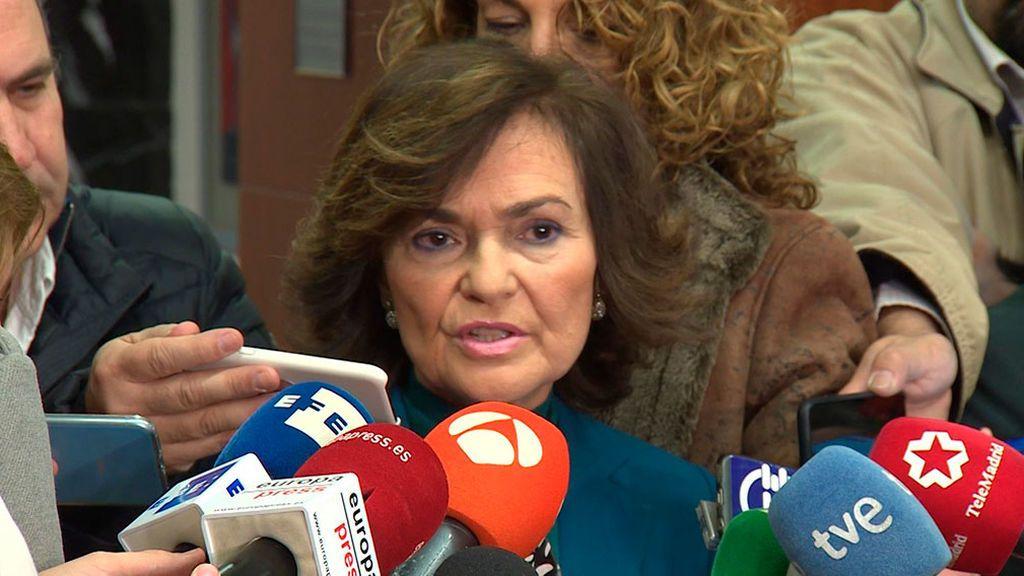 El Gobierno dice que no negociará la reforma del Código Penal con Torra