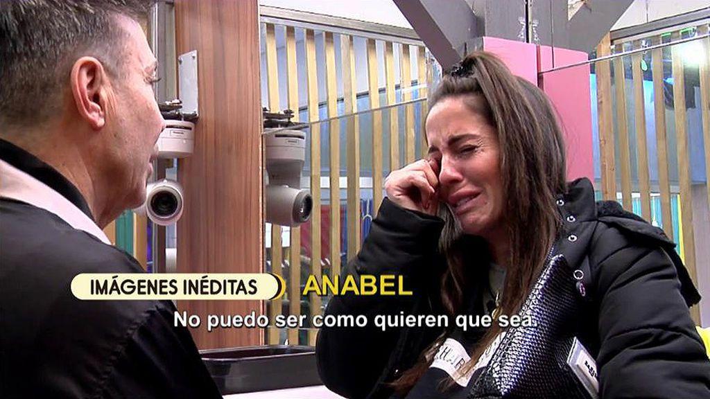 Anabel Pantoja se derrumba tras su entrevista con Kiko Hernández