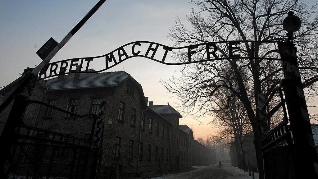 El campo de Auschwitz, a vista de dron
