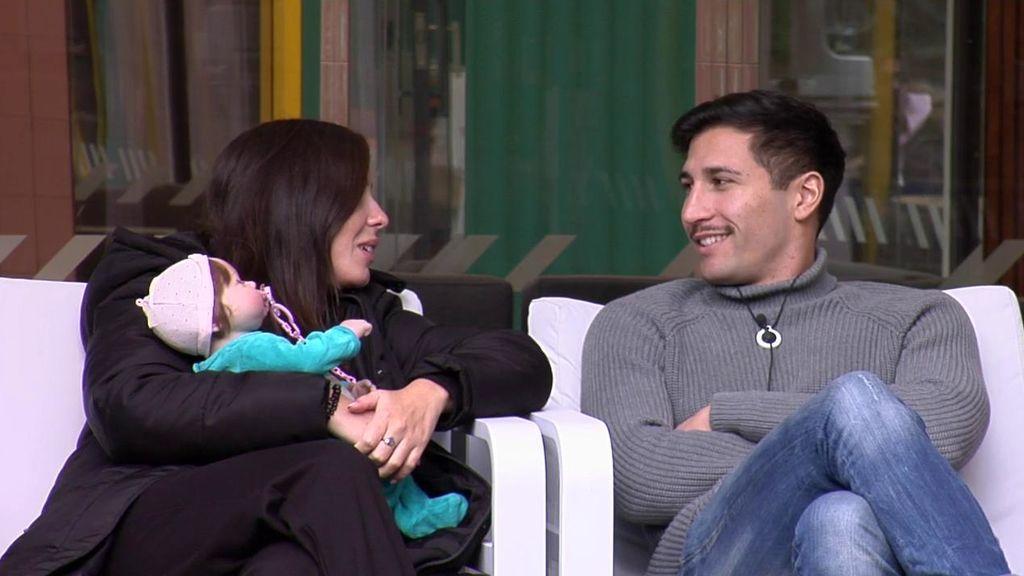 """Gianmarco habla de Adara con Anabel: """" Me hace reír con solo mirarme"""""""