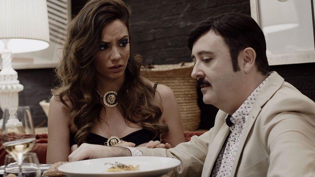 """Amaya, a Juanjo: """"Yo te querría igual con champán que con agua del grifo"""""""