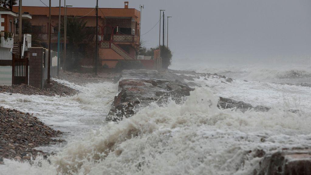 El temporal 'Gloria' multiplica los efectos negativos del cambio climático sobre la costa mediterránea