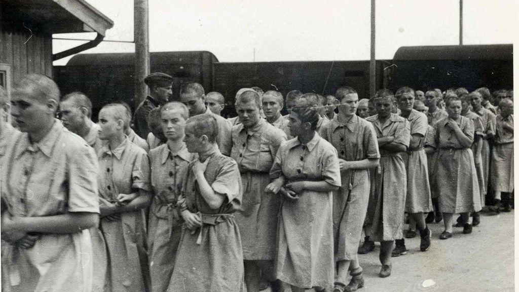 Mujeres al campo de trabajo de Auschwitz