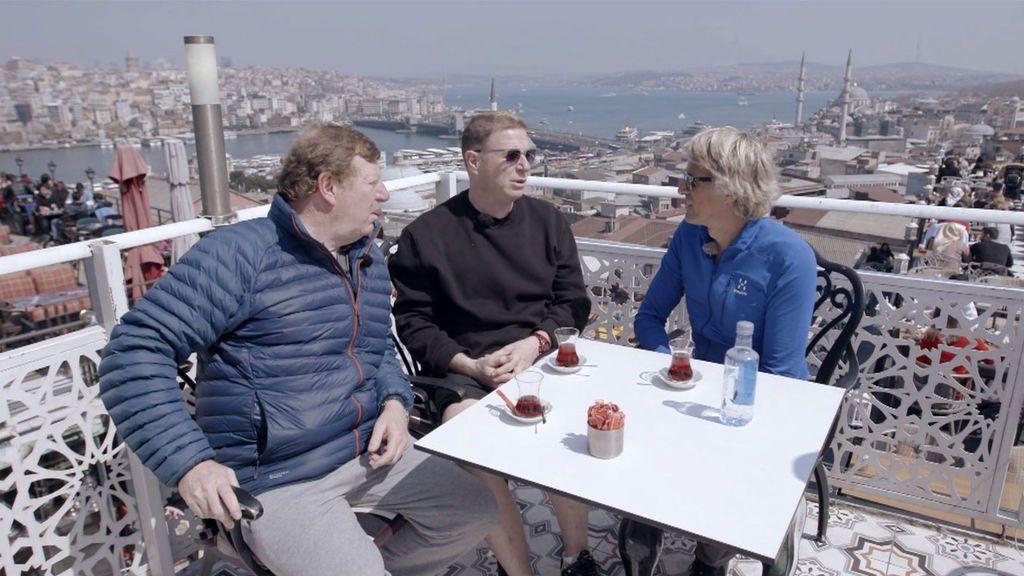 Los Morancos se enfrentan a diferentes retos físicos en Turquía Planeta Calleja Temporada 7 Programa 44