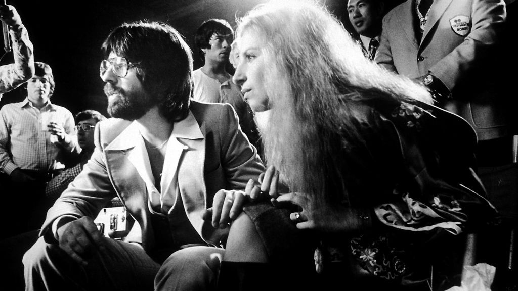Jon Peters con Barbra