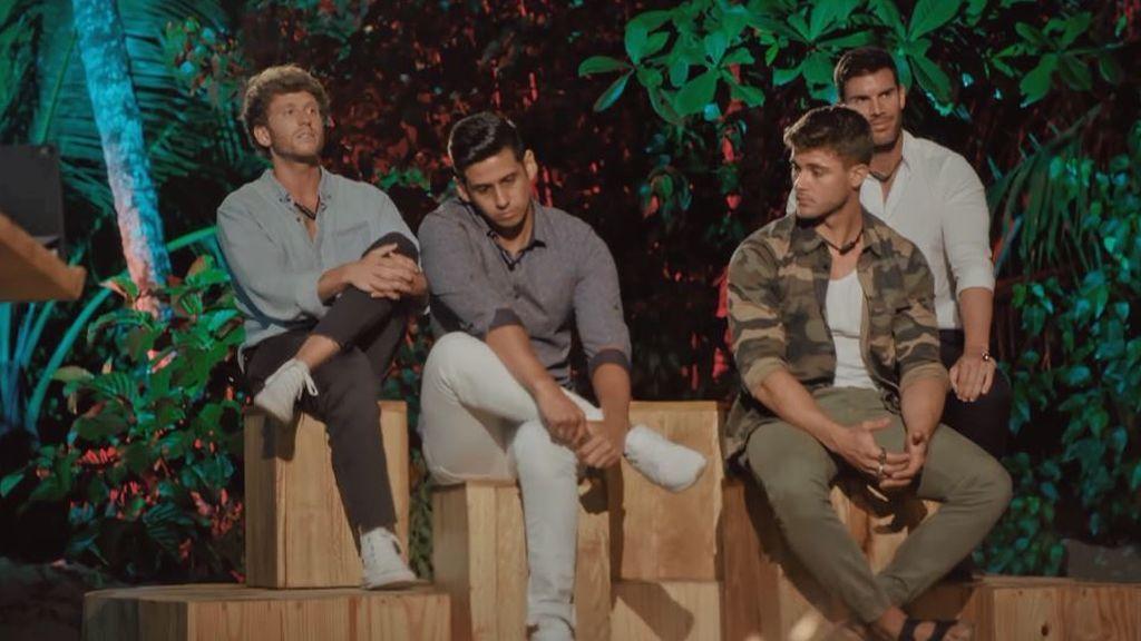 Gonzalo y Jose se enfrentan a su cuarta hoguera en 'La isla de las tentaciones'