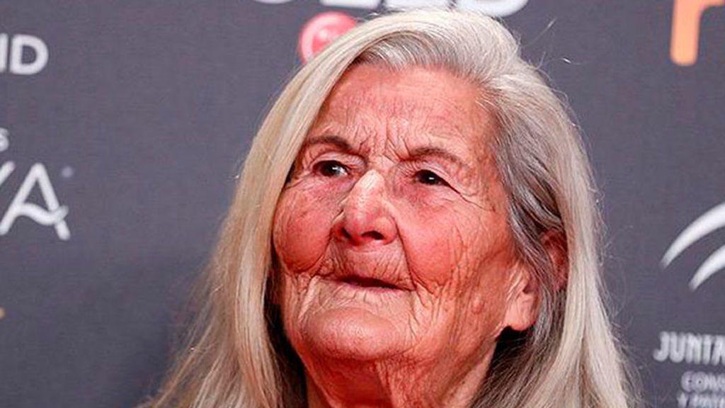 Benedicta Sánchez, actriz revelación con 84 años