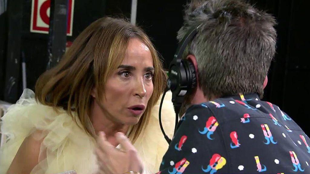 María Patiño se va de plató por un comentario de María Lapiedra