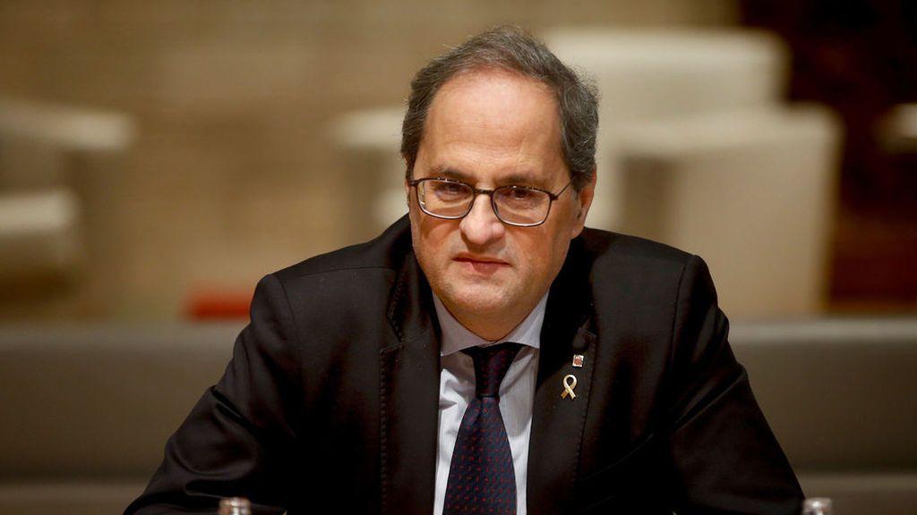 "La Junta Electoral Central pide al Parlament retirar el escaño a Torra ""de forma inmediata"""