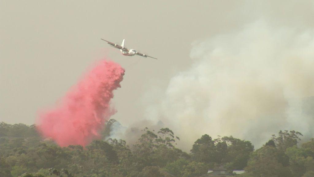 Mueren tres bomberos al estrellarse el avión cisterna con el que luchaban contra las llamas