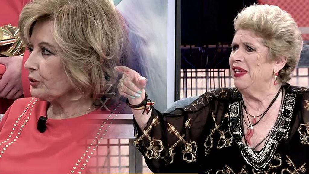 """El enfado de María Jiménez con Teresa Campos: """"Que se relaje, que ya somos mayorcitos"""""""