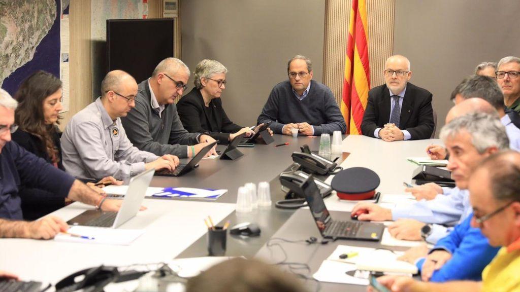 """Llamada de Sánchez a Torra: el presidente catalán pide resolver """"los déficits estructurales"""" de Cataluña"""