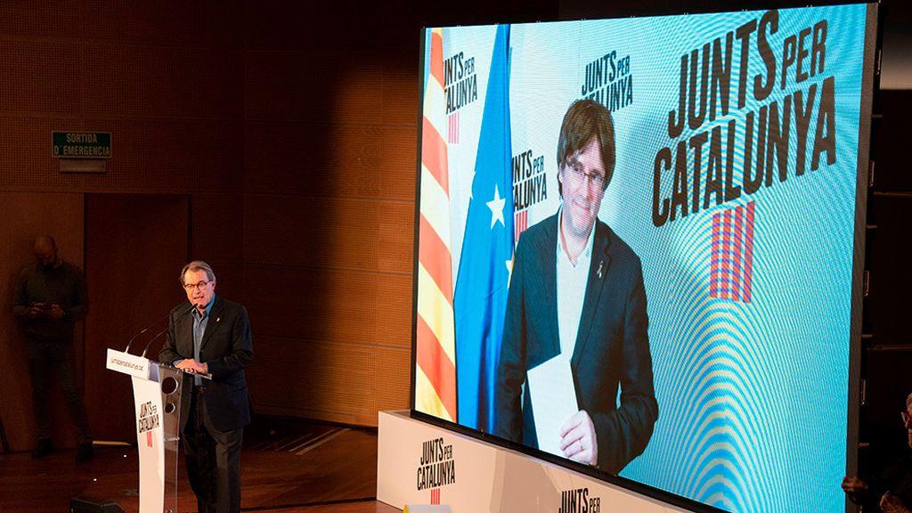 Puigdemot Artur Mas