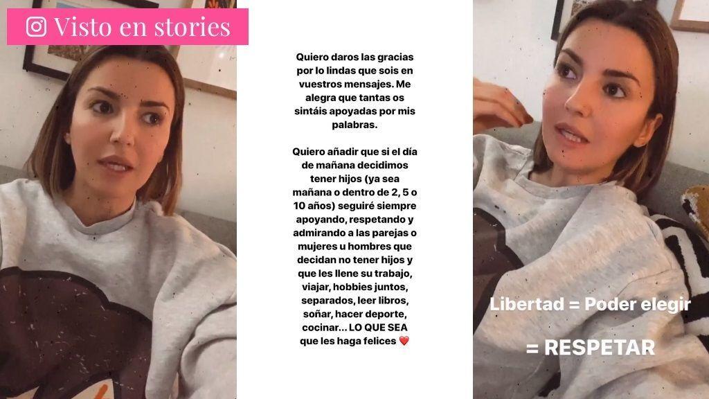 Alexandra Pereira responde a quienes le preguntan por la maternidad