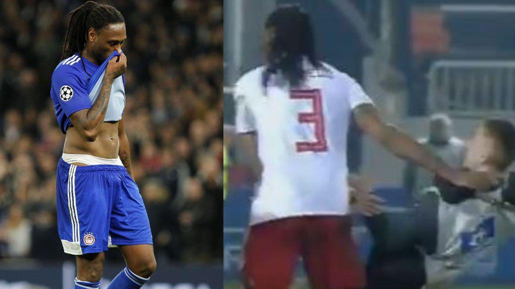 El exjugador del Villarreal, Rubén Semedo, vuelve a perder la cabeza y agrede a un recogepelotas de 15 años en la Liga griega