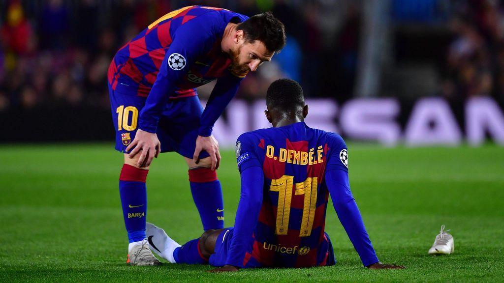 """El cambio físico de Dembélé tras pasar unas semanas en Catar: """"Es imposible que sea él"""""""
