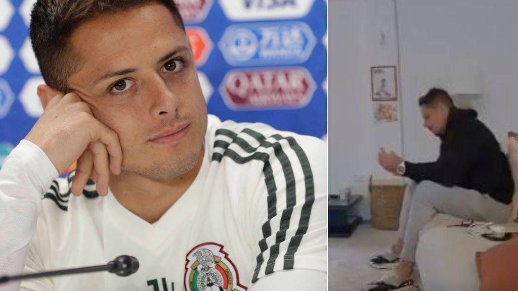 """Las lágrimas de Chicharito llamando a su padres para decirles que deja Sevilla: """"Es el principio de mi retirada"""""""