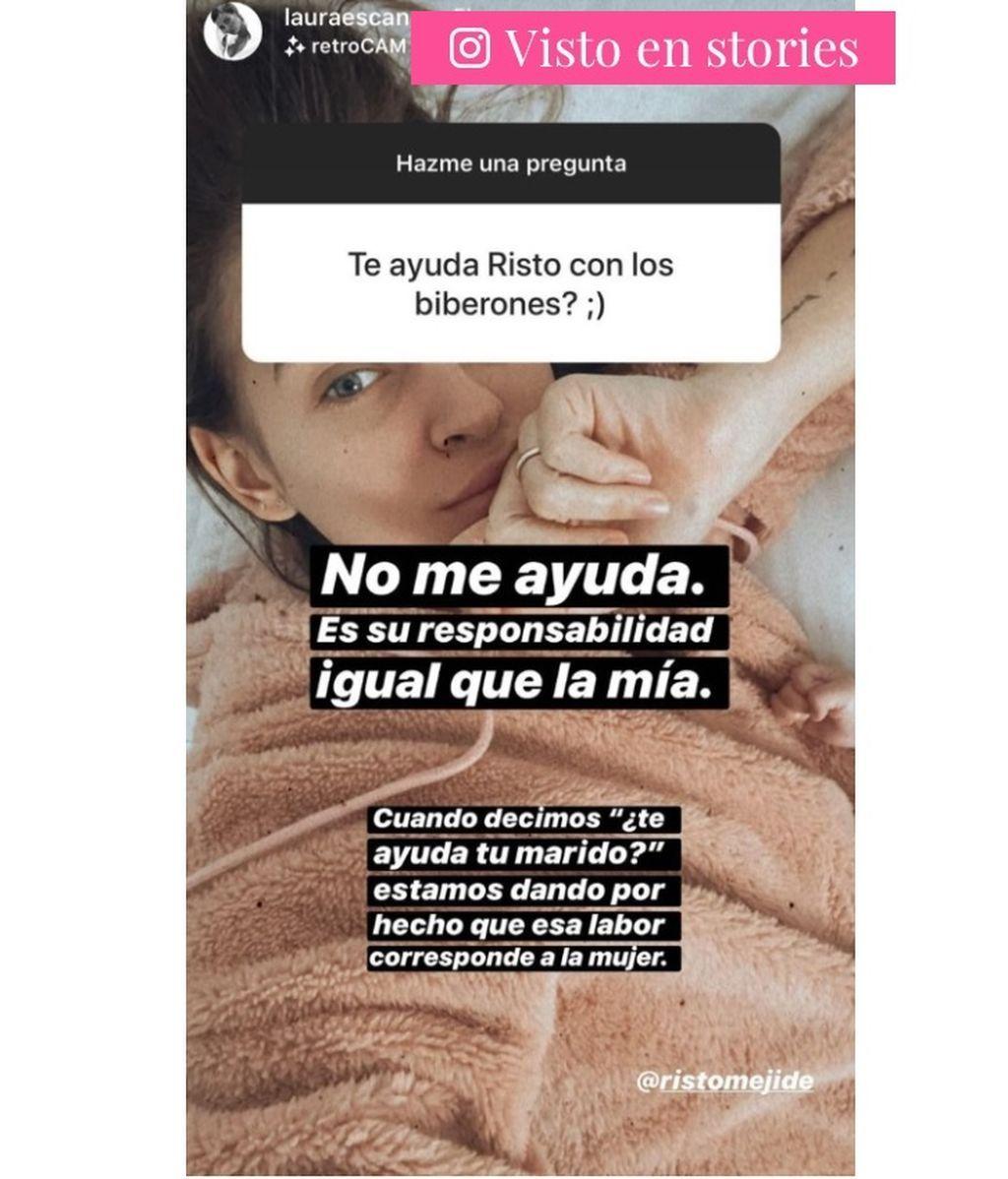 Laura Escanes, sobre la educación de su hija