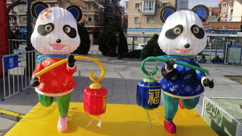 Figuras osos pandas