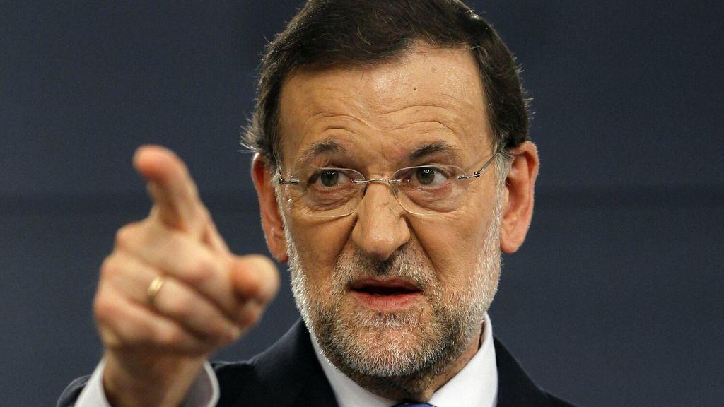 """Rajoy, ante la posibilidad de ser candidato contra Rubiales: """"Yo he venido a hablar de mi libro; ese tema lo trataré en mi próximo libro: Léalo"""""""