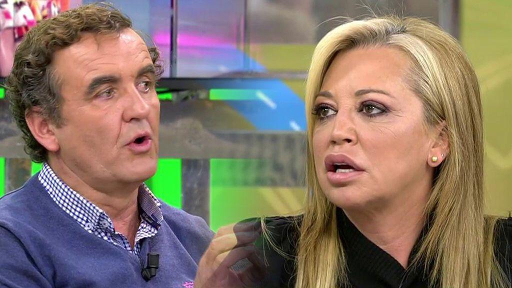 El pequeño conflicto entre Belén Esteban y Antonio Montero