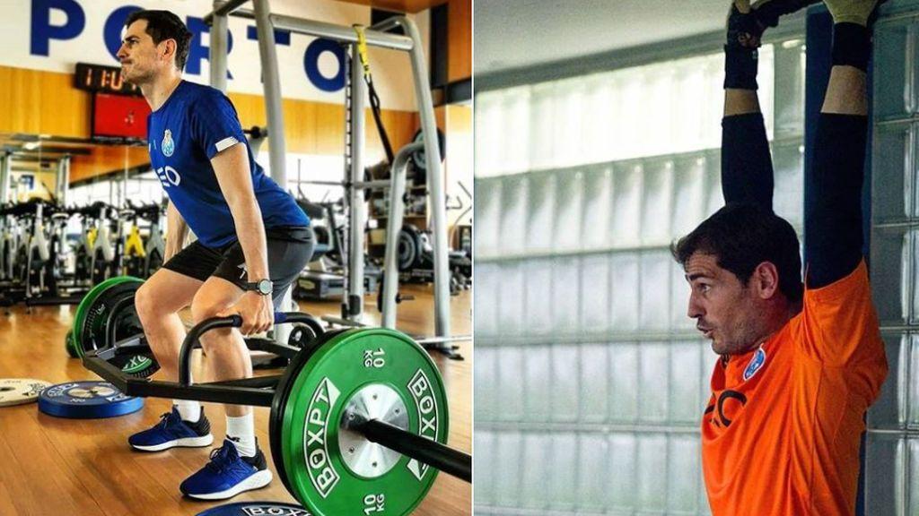 """Iker Casillas se machaca en el gimnasio confiando en su regreso: """"El esfuerzo te llevará a tener alguna recompensa"""""""