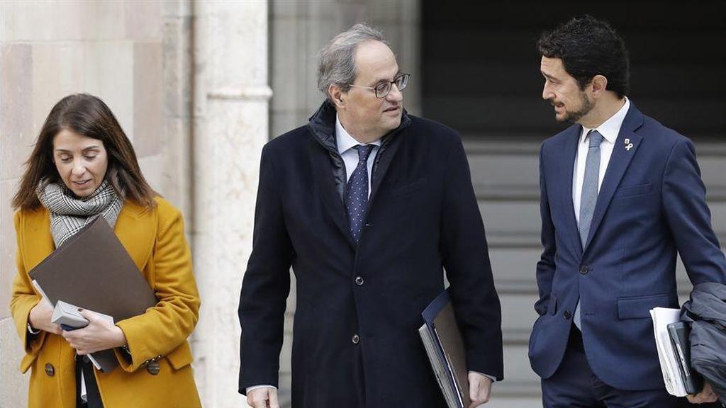 Los catalanes suspenden la gestión del Govern con un  4,65, de nota