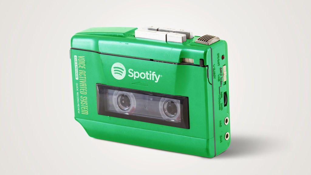 Grabadora vs. Spotify