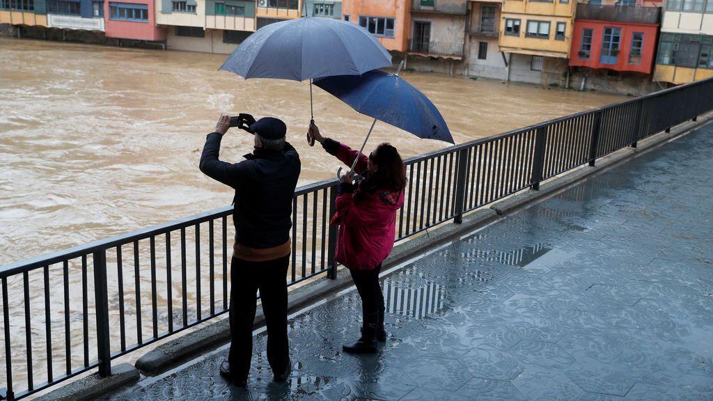 Las lluvias van a seguir siendo fuertes en Andalucía: más de 50 litros/m2 hasta el domingo