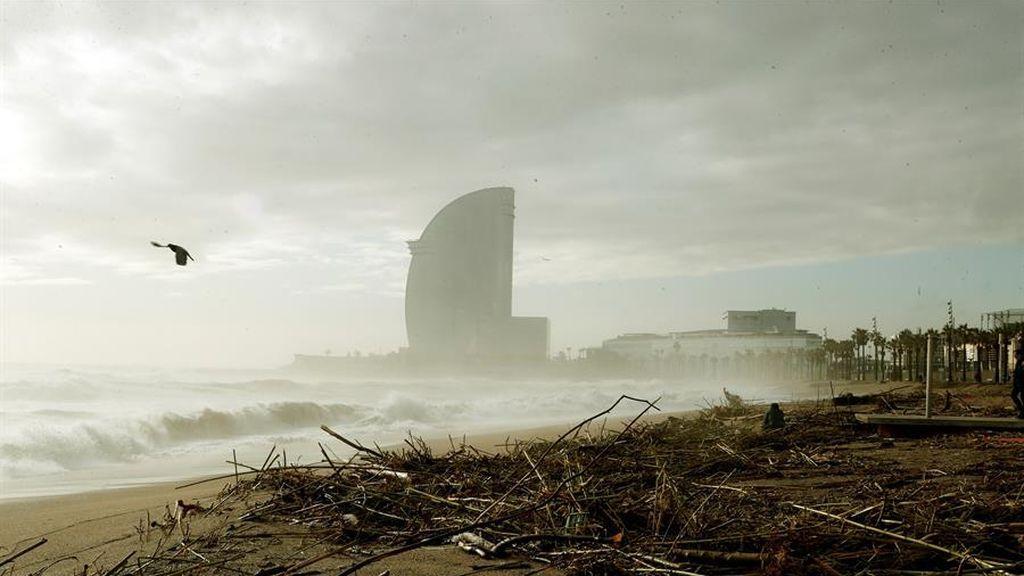 Minuto a minuto de la borrasca Gloria: Barcelona pedirá la declaración de zona catastrófica