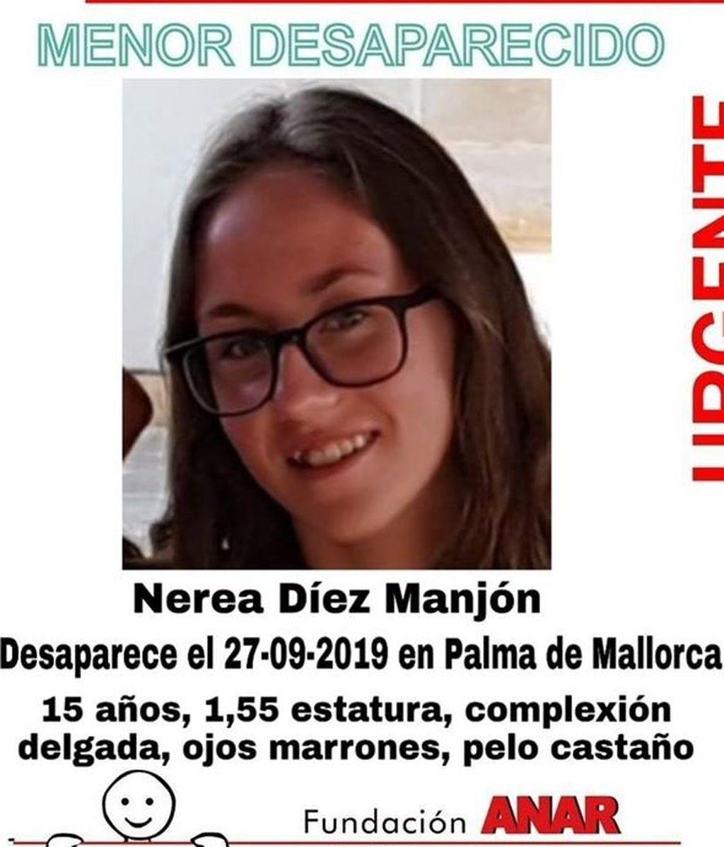 Piden colaboración ciudadana para localizar a una niña de 15 años desaparecida en septiembre en Palma