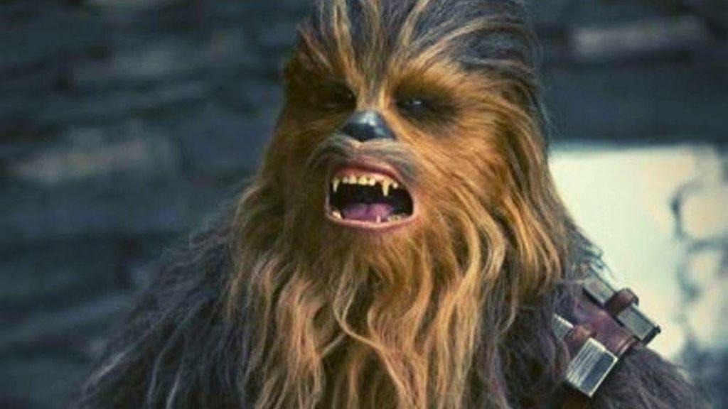 El enemigo de Chewbacca es la lavadora: un peluche