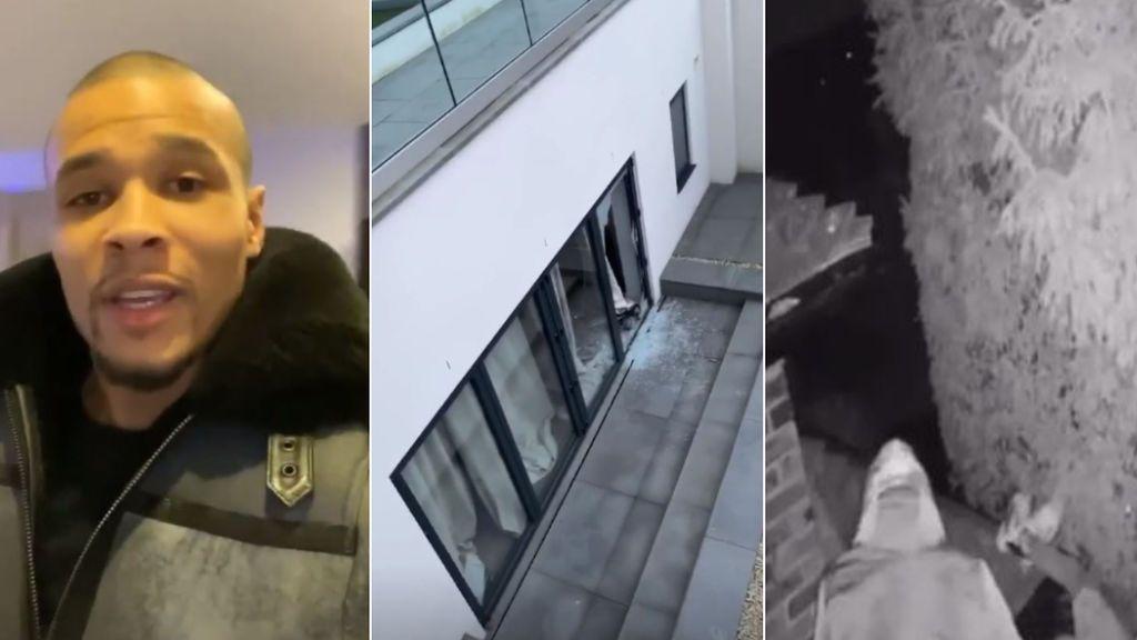 El boxeador Chris Eubank Jr sufre un robo en su casa tras presumir de sistema de seguridad, aunque los ladrones se olvidaron de lo más valioso