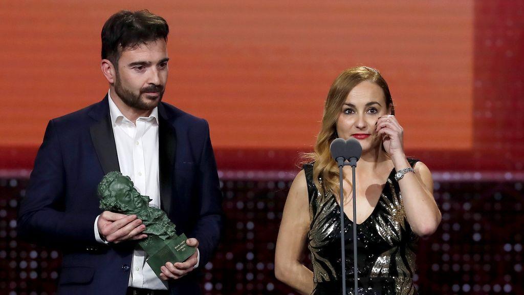 Silvia Venegas y Juan Antonio Moreno reciben el Goya al Mejor corto documental por su trabajo en 'Nuestra vida como niños refugiados en Europa'