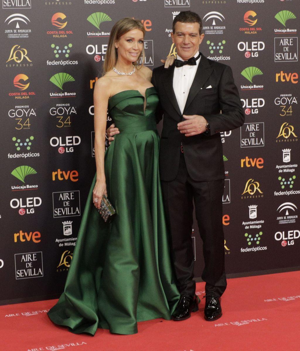 Antonio Banderas y Nilole Kimpbell