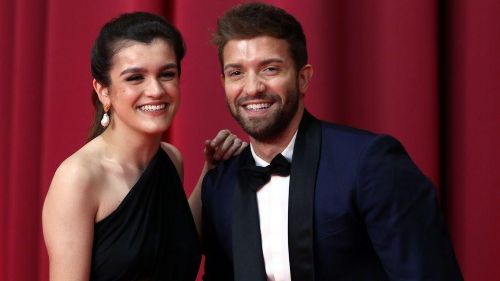 Amaia Montero y Pablo López